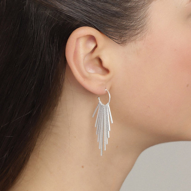 Pilgrim - Earrings Verdandi2 Silver Plated