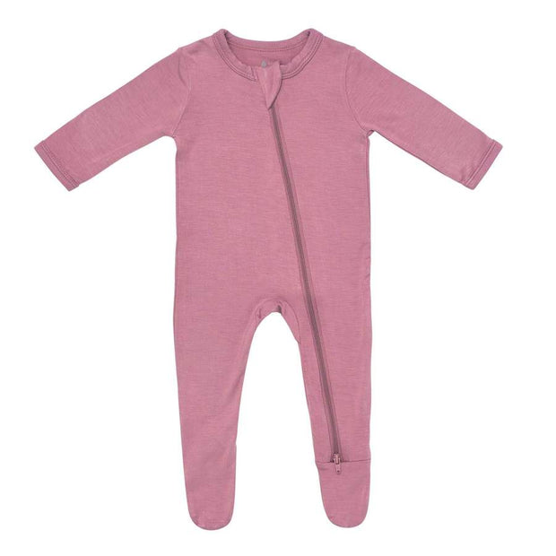Kyte Baby - Zippered Footie Mulberry