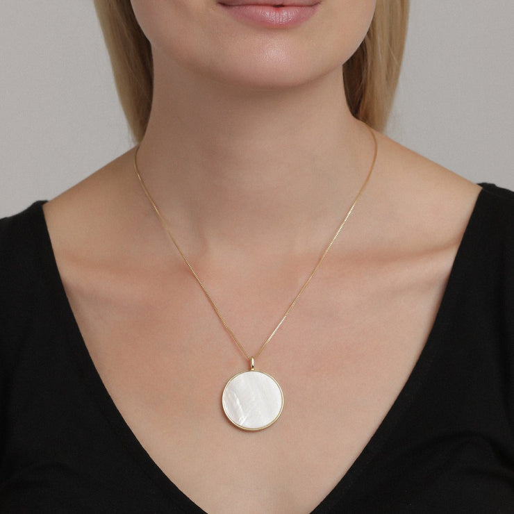 Pilgrim - Necklace Yoko_Pl Gold Plated White