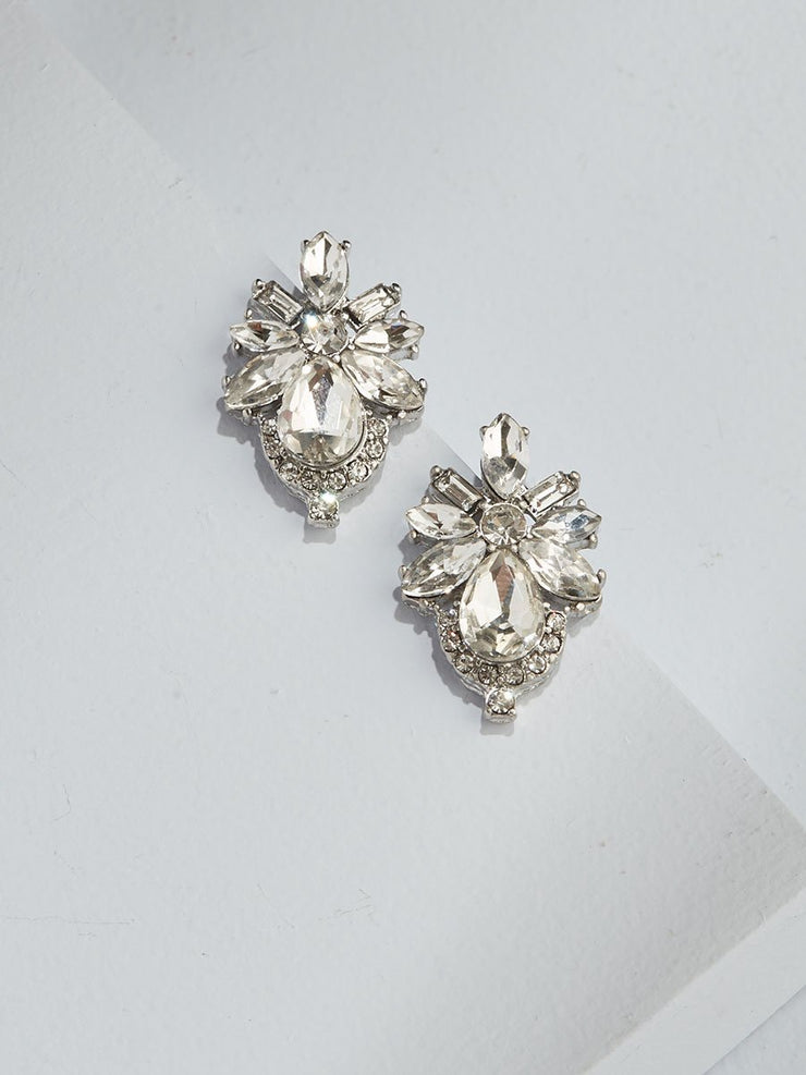 Olive and Piper - Floret Crystal Studs