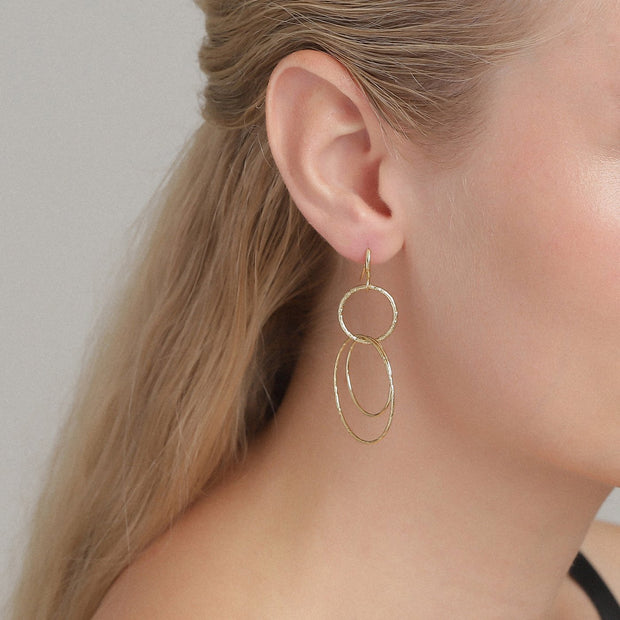 Pilgrim - Earrings Kiku_Pl Gold Plated