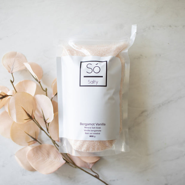 So Luxury - Salty Mineral Bath Soak Bergamot Vanilla