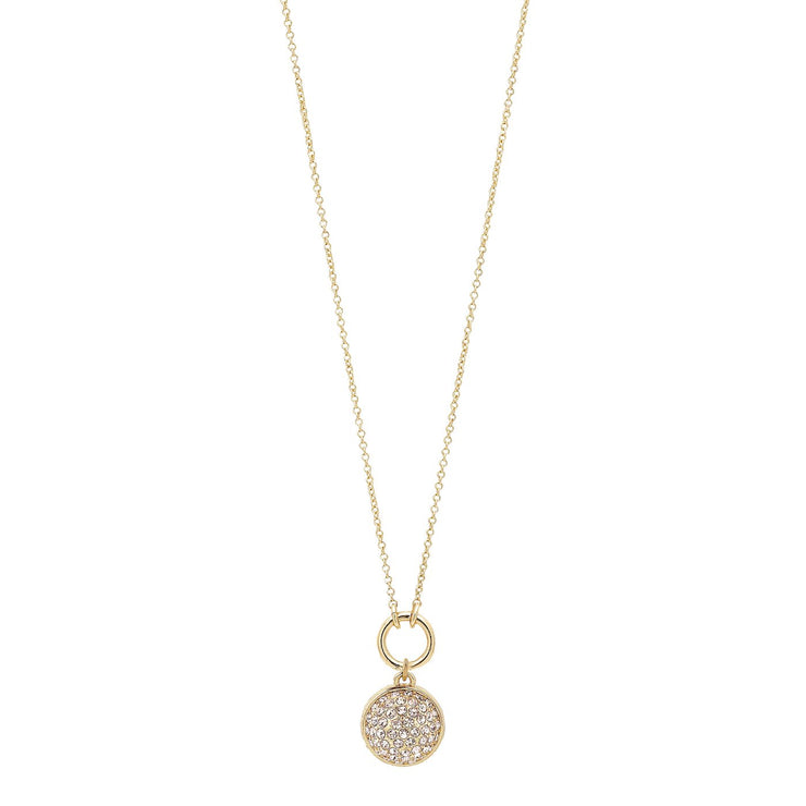 Pilgrim - Necklace Heather Gold Plated Crystal