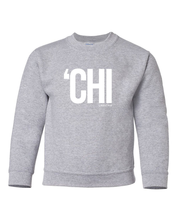 'CHI Lifestyle Youth Crewneck Sport Grey