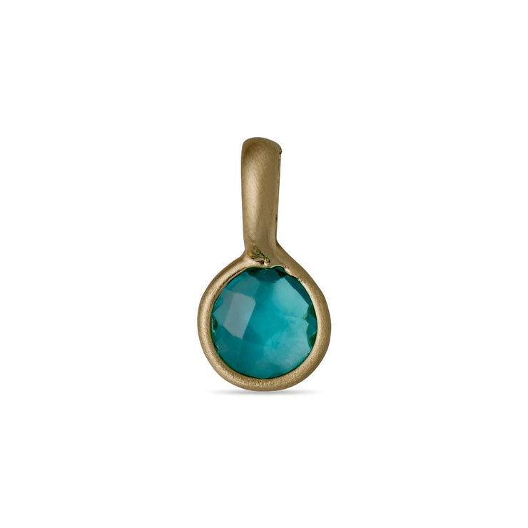 Pilgrim - Birthstone Pendant Gold Plated December