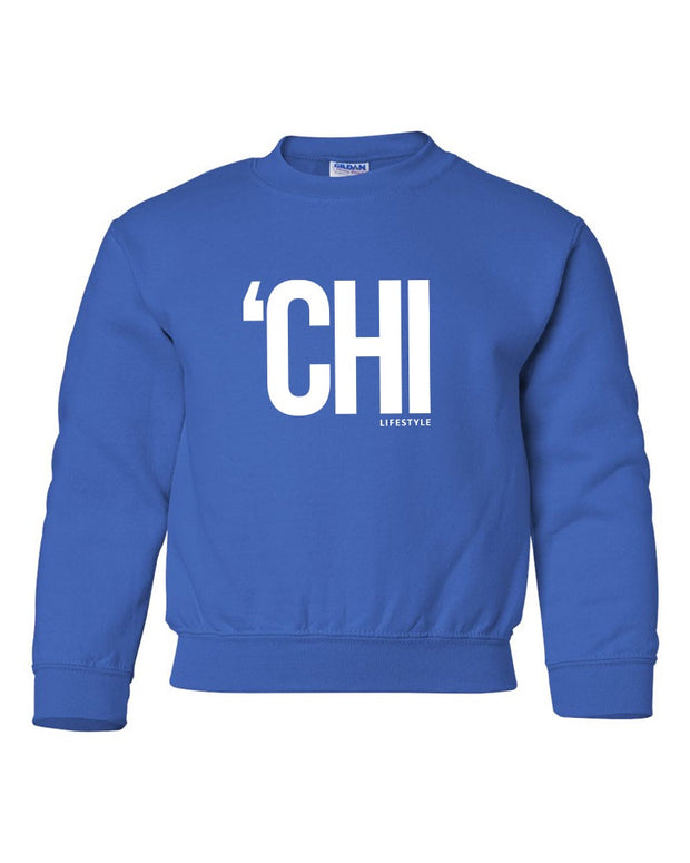'CHI Lifestyle Youth Crewneck Royal Blue