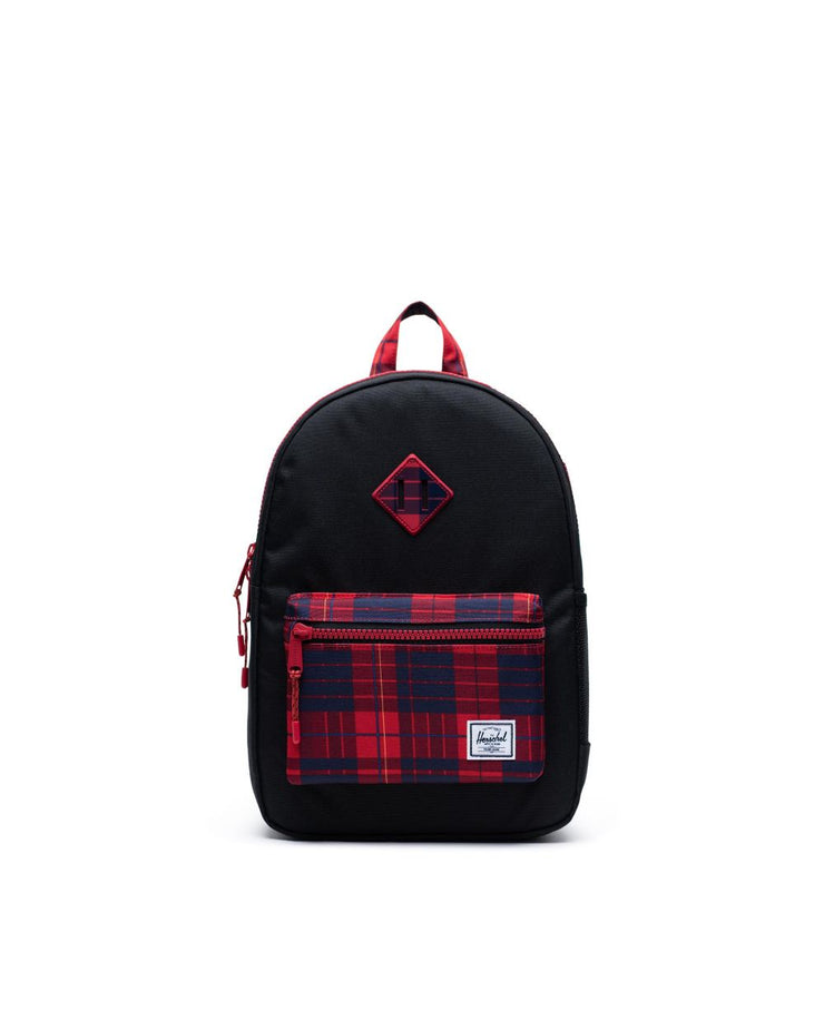 Herschel Supply - Heritage Youth XL Black/Winter Plaid