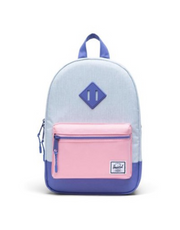 Herschel Supply -  Heritage Kids Ballad Blue, Candy Pink & Dusted Periwinkle""