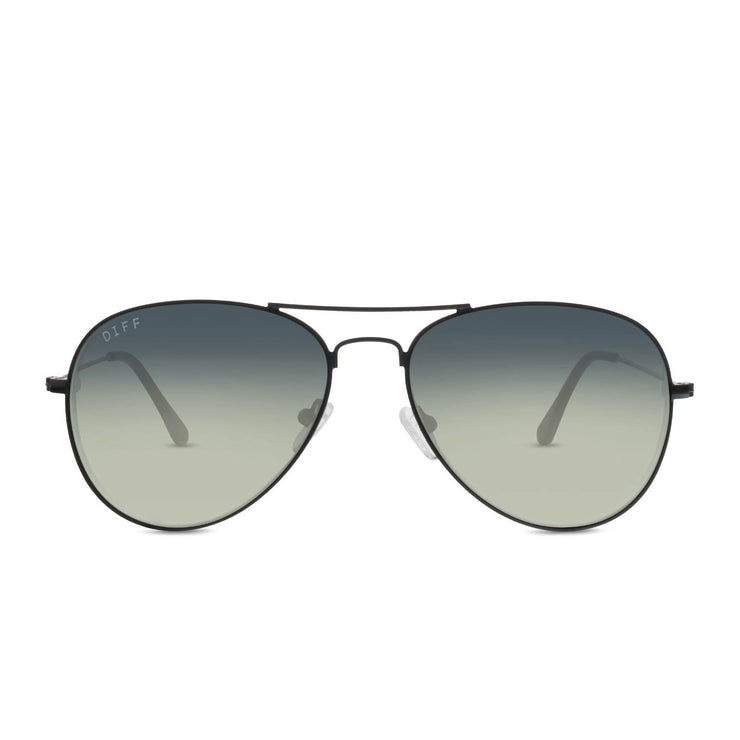 Diff - Cruz Black + Grey Gradient Sunglasses