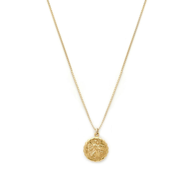 Leah Alexandra - Necklace St.Christopher Gold