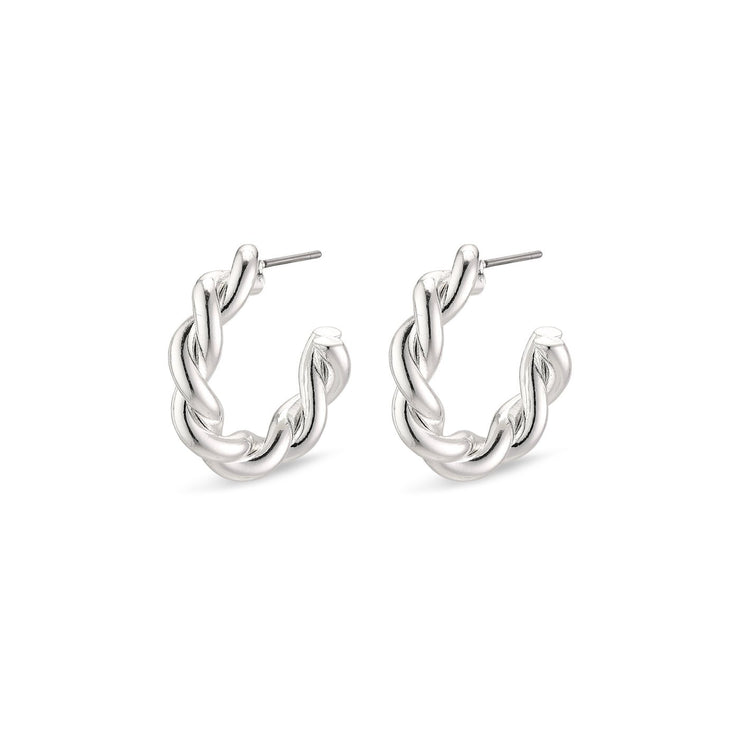 Pilgrim - Earrings Skuld Silver Plated