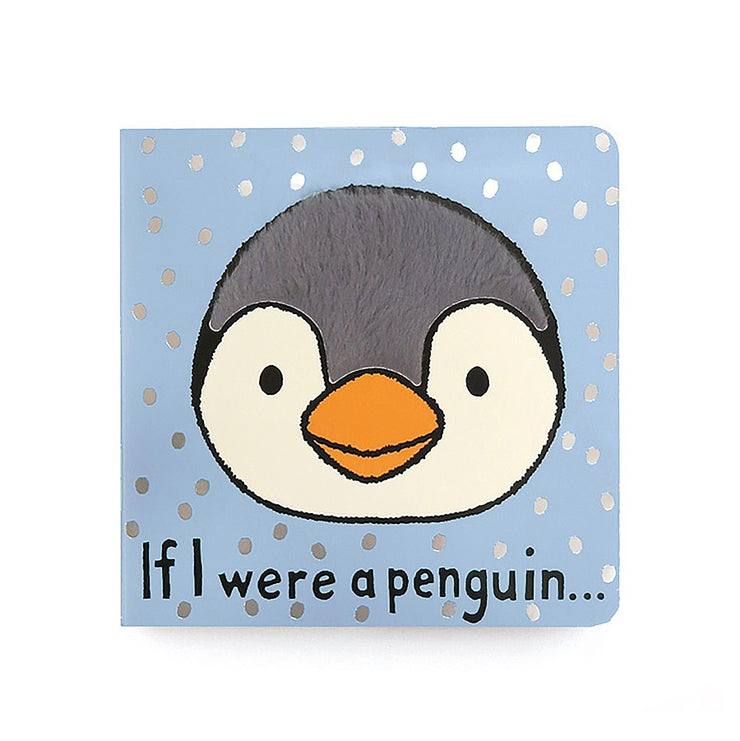 JellyCat Book If I Were A Penguin
