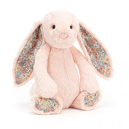 JellyCat Bashful Bunny Blossom Blush - Medium 12""