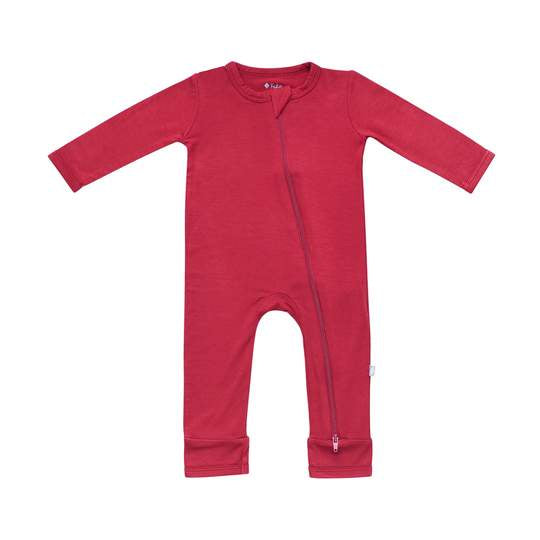 Kyte Baby - Zippered Romper Ruby
