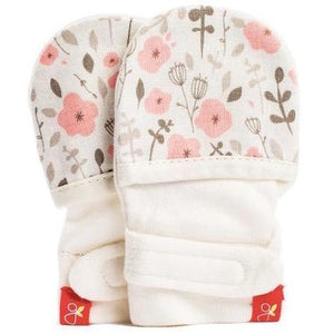 Goumi - Enchanted Garden Pink 0-3M Mitts