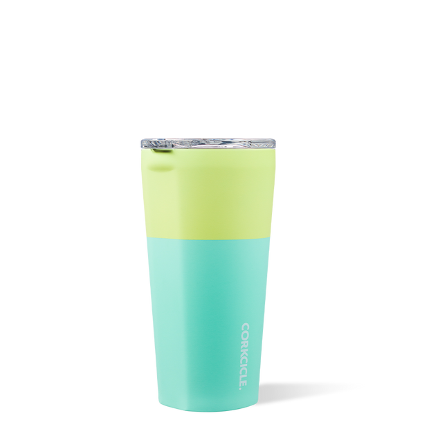 Corkcicle - Color Block Tumbler 16oz Limeade