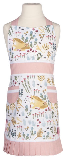 Now Designs Apron Kids Sally Unicorn