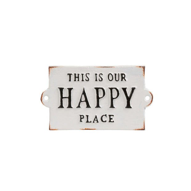 Indaba - This Is Our Happy Place Sign