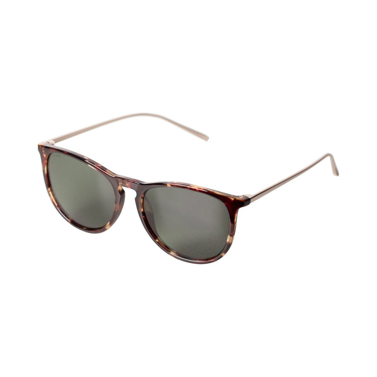 Pilgrim - Sunglasses Vanille Gold Plated with Brown