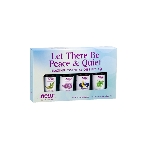 Now - Essential Oil Kit 4 x 10mL Let There be Peace and Quiet