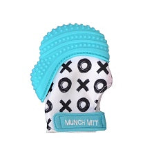 Monarch - Munch Mitt Aqua Blue XO
