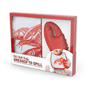 Fred - Chill Baby Dressed To Spill Lobster Bib & Teether Set