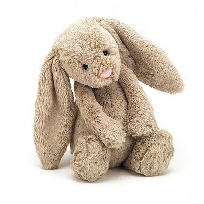 JellyCat Medium Bashful Beige Bunny Medium 12""