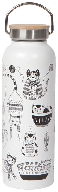 Now Designs Purr Party Roam Water Bottle
