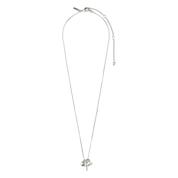 Pilgrim - Necklace Anet Silver Plated