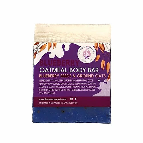 Sweet Soaperie - Blueberry Oatmeal Soap