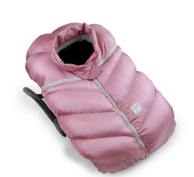7Am Car Seat Cocoon- Metallic Lilac