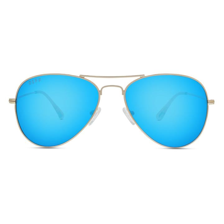 DIFF - Cruz GD-BU06 Gold Blue Lens