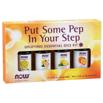 Now - Essential Oil Kit 4 x 10mL Pep in Your Step