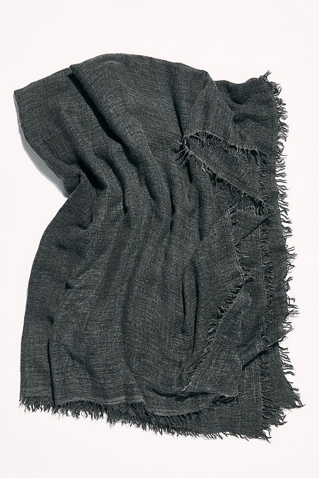 Free People - Sun Washed Travel Scarf Black