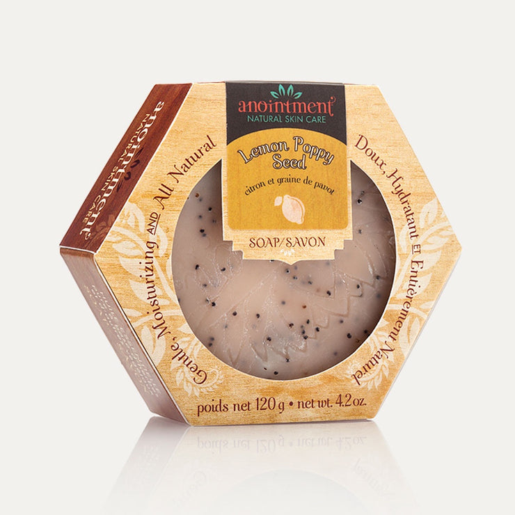 Anointment - Lemon Poppy Seed Soap