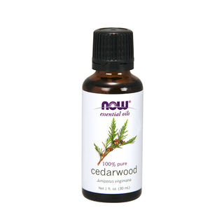 Now - Essential Oil Cedarwood 30mL