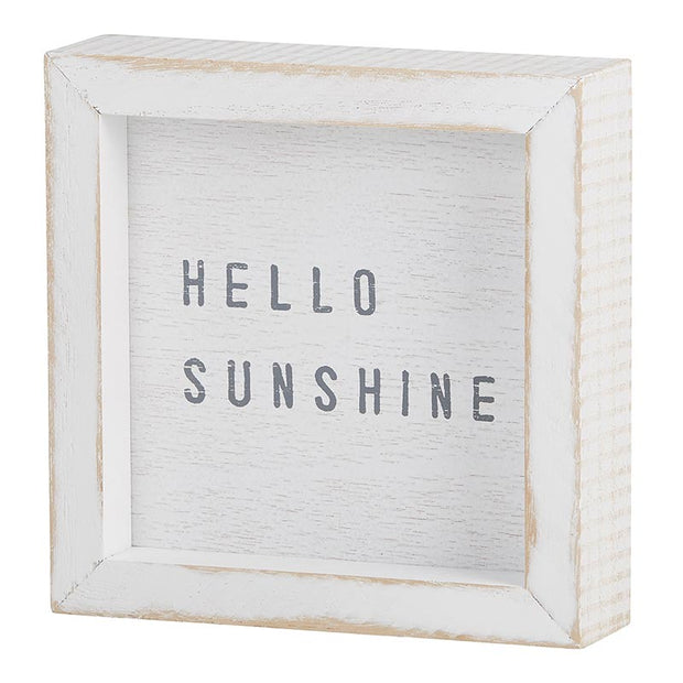 Stephan Baby - Petit Wood Board Sign Hello Sunshine