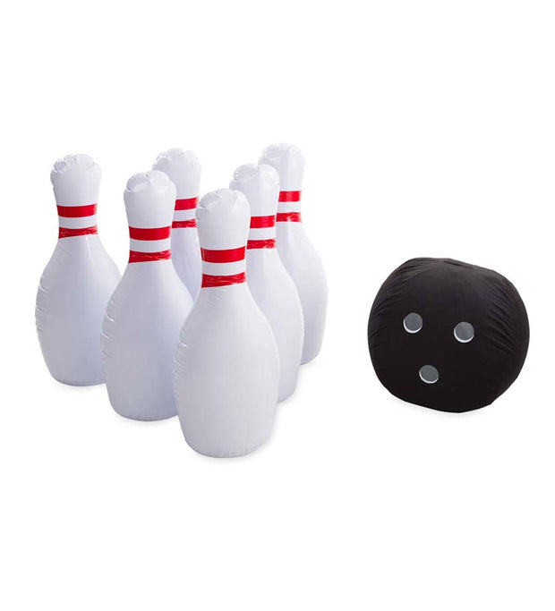 HearthSong Giant Inflatable Bowling Game