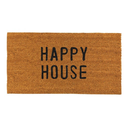 Santa Barbara - Doormat Happy House