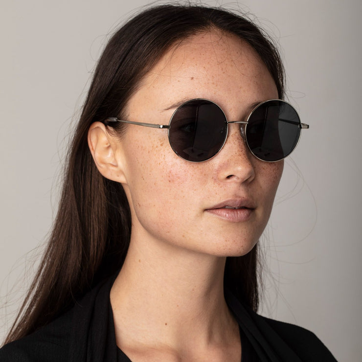 Pilgrim - Sunglasses Polly Green with Gold