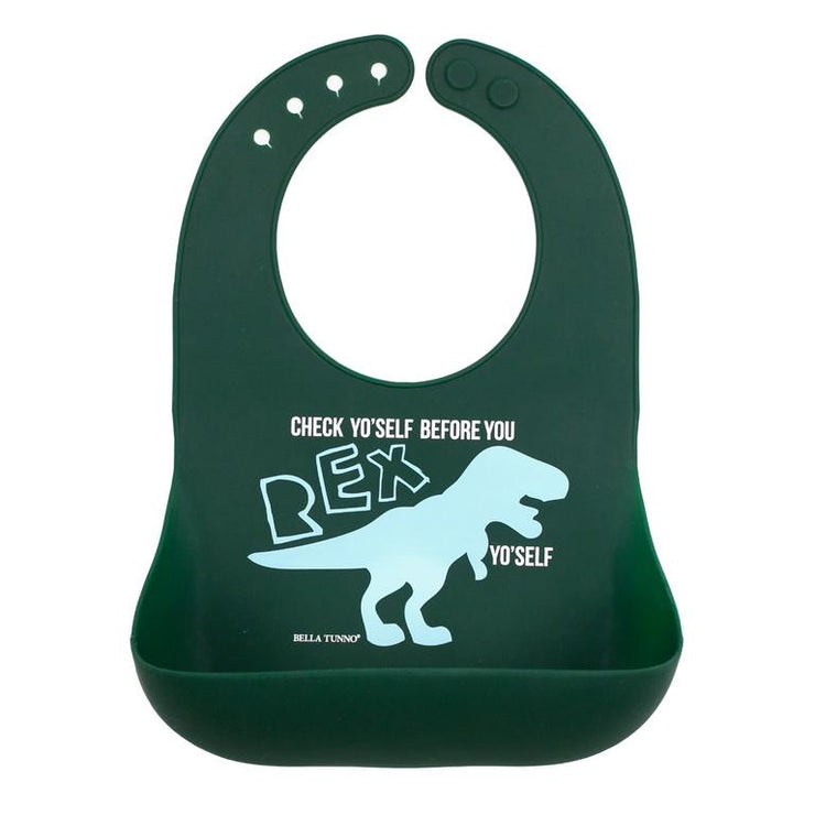 Bella Tunno Wonder Bib Check Yo'Self Before You Rex Yourself