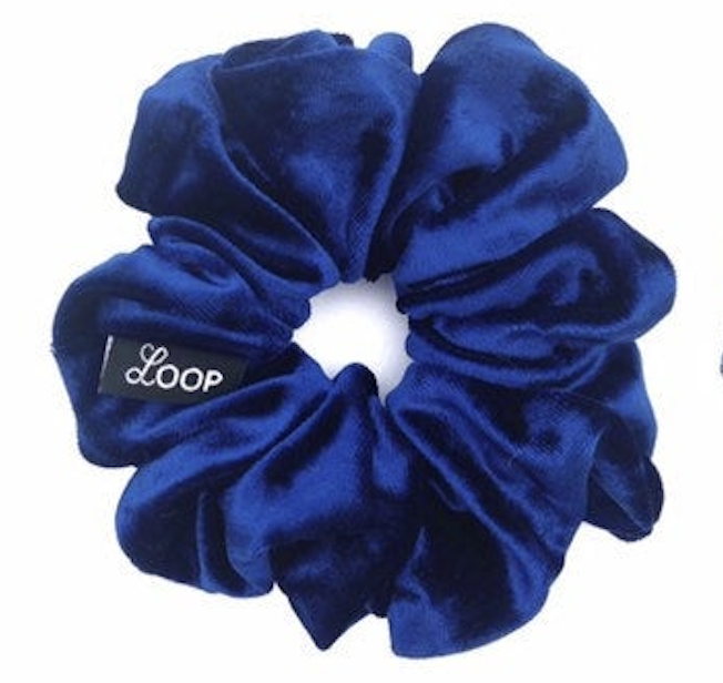 LOOP Scrunchie Mini Royal Velvet