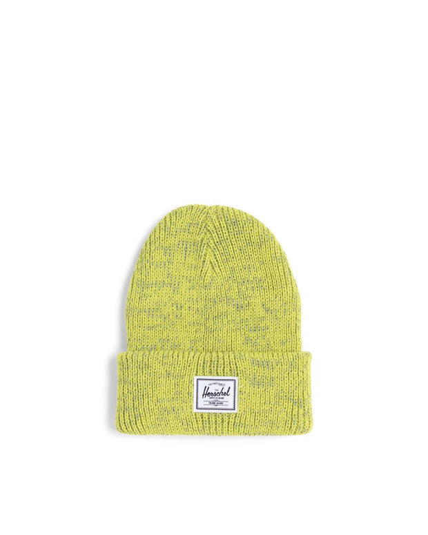 Herschel Supply - Abbott Youth Beanie Reflective Lime