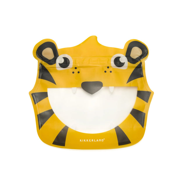 Kikkerland - Zipper Bags Set of 3 Tiger