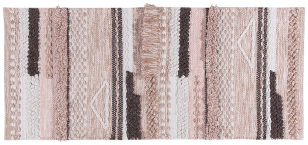 Now Designs Centerpiece Table Runner Woven Siesta Pink