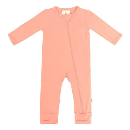 Kyte Baby - Zippered Romper Terracotta