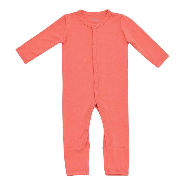 Kyte Baby - Zippered Romper in Melon