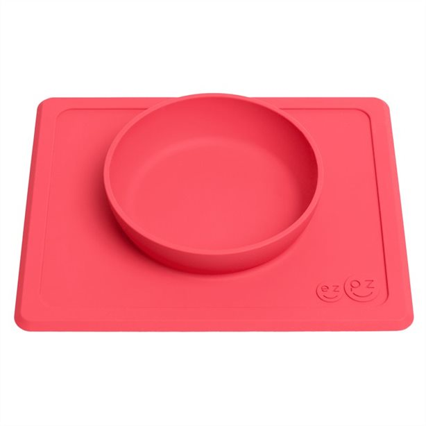 EZPZ The Mini Bowl - Coral Pink