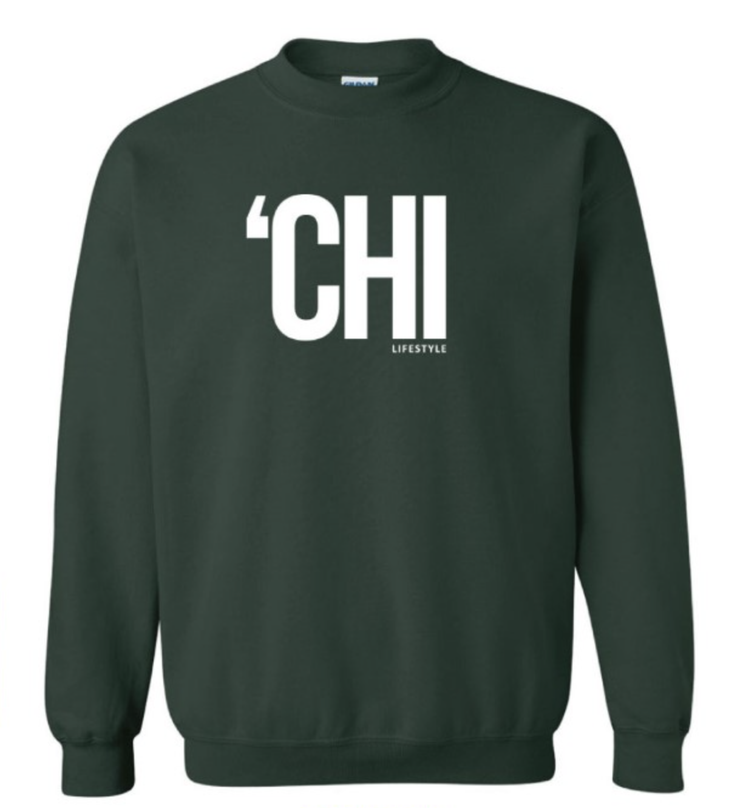 'CHI Lifestyle Crewneck Forest