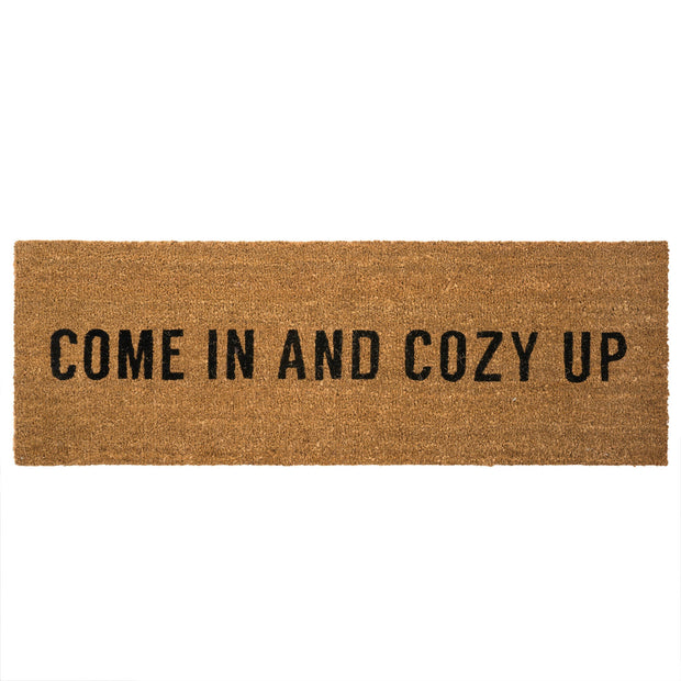 Indaba - Doormat Coir Come In and Cozy Up